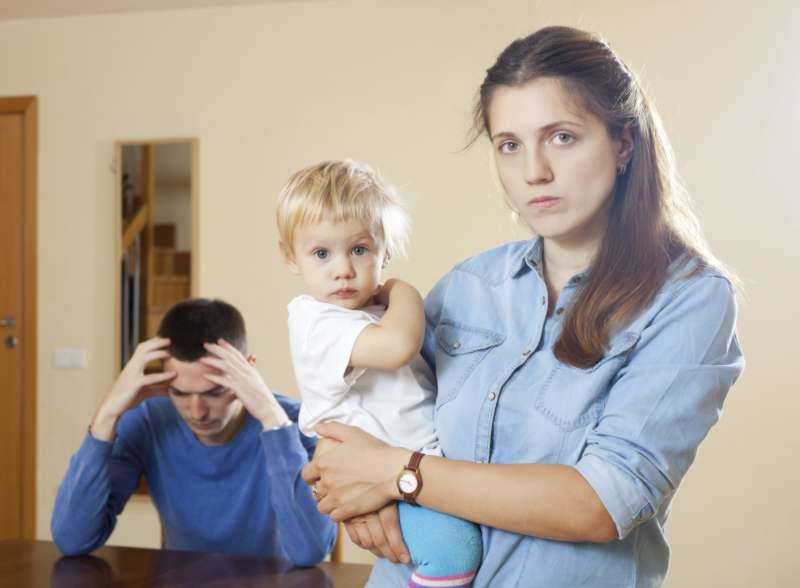 להתגרש עם תינוק בן שנה